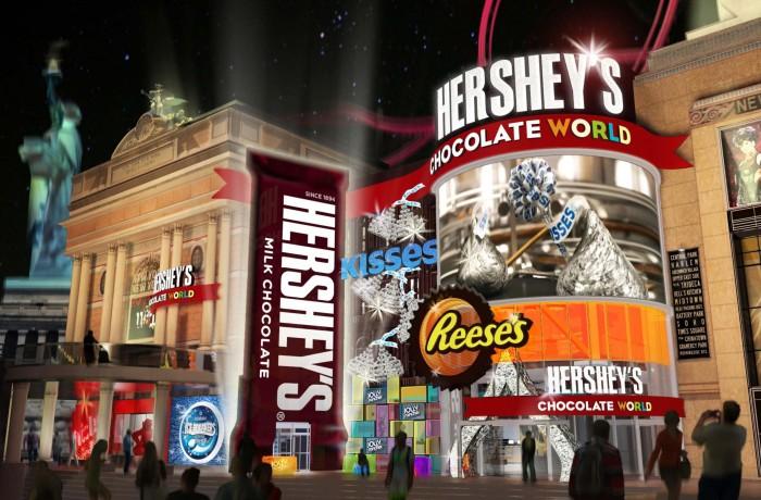 Hershey's  @ New York  New York